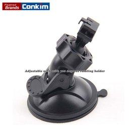 Wholesale Abs Gps - Conkim Unique Design Rotating Car DVR GS8000 GS8000L Windshield Suction Cup Mount Holder ABS Recorder Bracket For GPS Navigation