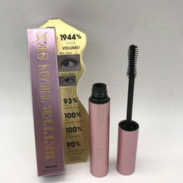 Wholesale volume tube - Handpicked Faced Volume Mascara Better Than Sex Cool Black Mascara Pink Tube Top Quality Free Shipping
