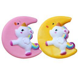 Wholesale Big Horse Toys - Soft Emoji Bread Hamburger Buns Kawaii Squishy Charms Jumbo Toast Phone Strap Squishies Crescent Horse DDA148