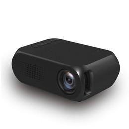 Argentina Mini proyector de cine en casa YG320 Mini cine en casa Cine TV Proyector LED portátil HDMI / USB / SD / AV 1080P HD Proyector Envío gratis supplier mini hdmi projector free shipping Suministro