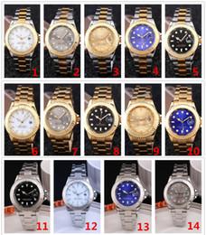 Wholesale Clock - men watch 2019 high quality fashion designer women watches sport quartz calendar black Leather gold stainless steel clock