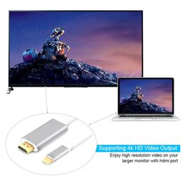 Wholesale Galaxy Note Hdmi Cable - Universal HDMI Adapter To HDTV 3 in 1 cable Connector For Samsung Galaxy S8 Note 5 Iphone 8 Ipad Air2 with retail box