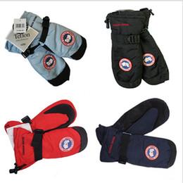 aaffbf0459049 Marque hiver bas mitaines CANADA mitaines gants pour hommes femmes  imperméable coupe-vent épaisse oie mitaine de ski en plein air gant de  snowboard avec ...