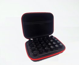 Wholesale Young Living - 30 Slots 1-3ML Essential Oil Storage Bag Box Portable Foam Hard Shell Carrying Case Best For DoTerra Young Living Oils