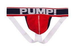 Wholesale penis s - New Men PUMP Cotton Sexy Underwear Gay Penis Pouch Mens Brief Underwear Man Sleepwear S