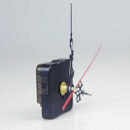 Canada 100 PCS Quartz Horloge Mouvement Kit De Réparation DIY Outil Main Travail Mécanisme De Broche Muet Sans batterie DHL cheap mute clocks Offre