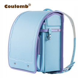 52a308331453 Coulomb Children s Backpacks For Girls School Bags For Kids Orthopedic Backpack  Female Satchel High Quality Japanese Pu Love NEW Y18100704