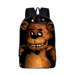 school bag teens Promo Codes - For Teen Backpacks Five Nights At Freddys Backpack Bonnie Fazbear Foxy Freddy Chica Backpack Kids Bags Boys Girls School Bags