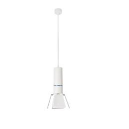 Surface de peinture en Ligne-Peint Pipe Restaurant Balcon Couloir Lampes Suspendues Surface Monté Tuyau Tube Suspendu Lampe blanc Aluminium Chine Fabricant