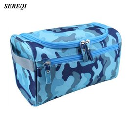 Wholesale Fabric Life - SEREQI 9 Color Waterproof Travel Makeup Storage Bag Men's Women Bath Toiletries Bag Daily Necessities Of Life Travel Organizer