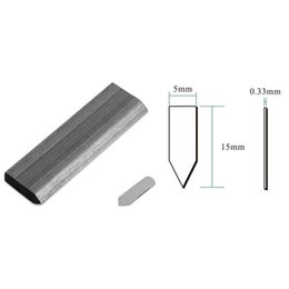 Wholesale Nail Melon - Wholesale-manual stapler frame back plate fixed studs, triangular melon seeds nail 10,000 pieces