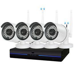 4CH HD Sans Fil 960P NVR 4 PCS 1.3MP IR Extérieur P2P Wifi IP CCTV Système de Surveillance Caméra Kit de Surveillance 1 To disque dur ? partir de fabricateur