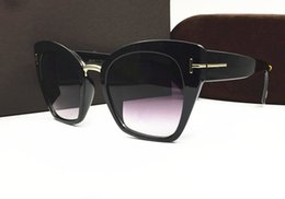 Wholesale Square Black Glass Plates - New style popular brand sunglasses 553 women sun glasses plate optical frame summer outdoor uv protection fashion eyewear with original box