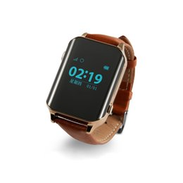 Gps localizar online-SmartWatch GPS Tracker Localizador de reloj inteligente GPS para ancianos Monitor de ritmo cardíaco Soporte de reloj Tarjeta SIM A16