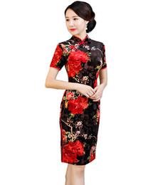 Vestido largo chino de Qipao de la historia de Shangai Vestido chino oriental de Cheongsam Vestido largo de la mujer de Nation Trend Ropa para mujer desde fabricantes