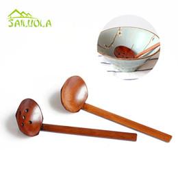 2019 strumenti di legno giapponesi 2 pz / lotto grande cucchiaio di legno set zuppa mestolo cucchiai da minestra giapponese per ajisen ramen legno colino utensili da cucina accessori sconti strumenti di legno giapponesi