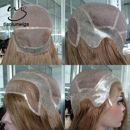 Haarteile & Topper Haarverlängerung Und Perücken Sego 6 Zoll Gerade Feinen Mono Haar Topper Toupet Für Frauen Reine Farbe Menschliches Haar Stück Clip In Toupet Haarteile 150% Dichte