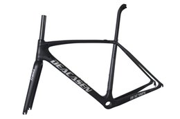 Wholesale China Roads - carbon road frame Racing bicycle quality and popular full carbon road frame with UD finish2018 china made super light DEACASEN
