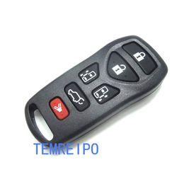 nissan car shell caso remoto Desconto 5 + 1 botão Substituição shell chave do carro para nissan tiida qashqai X-TRAIL controle remoto caso chave fob