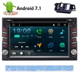 Wholesale receiver android - Eincar Car DVD Player Quad Core Android 7.1 Stereo 6.2'' GPS Navigation Bluetooth Radio Receiver Radio USB SD Wifi Headunit Video