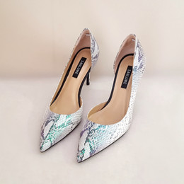 Wholesale shoes sex white - 9 cm Stiletto heel size 35 to 39 Handmade shoes woman sex high heel women pumps party pointed tow genuine leather