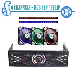 ALSEYE Contrôleur de ventilateur d'ordinateur avec ventilateur LED RGB Set de bande RVB, ventilateurs de couleur variable 1100RPM, bandes doubles pour ordinateur ? partir de fabricateur