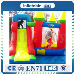 Wholesale Bouncy Slides - Free Shipping Inflatable Jumping Castles For Kid Bounce House Inflatable Bouncer Bouncy Castle Slide Combo With Blower