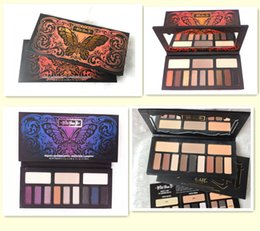 Wholesale Eyeshadow Palette Style - Newest Kat Von D Makeup 12 Colors Monarch Eyeshadow Palette Chrysalis Eyeshadow Palettes Long-lasting 4 styles eye Shadow DHL Free Shipping