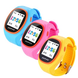 Wholesale Gps Tracker Watch Times - Gosear Kids Child Cute Smart Watch GPS AGPS LBS Tracker Locater Real-time Monitor SOS Historical Remote Monitoring Wristwatch
