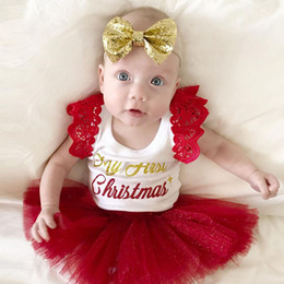 d08dafea0f3 Newborn Babe Toddler Baby Girls Lace Tutu Princess Dress Christmas Clothes  Costume Long Sleeve Fashion Baby Girls Clothes New