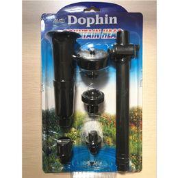 Wholesale Ponds Kits - Plastic 1 Set Spray Heads Water Pump Sprinkler Garden Pond Watering Kit For Fountain Display Landscape Aquarium Sprayer Black