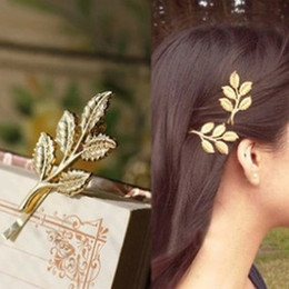 красивые заколки для волос Скидка 1pc 2018 New Athena Olive Branch Leaves Hair Ornaments Only Beautiful Bride Hair Clips For Ladies Gifts Elegant Accessories