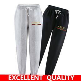 Wholesale Cotton Track Pants Men - Winter Autumn 100% Cotton Brand Print Sweatpants Mens Track Pants Casual Baggy Lined Tracksuit Trousers Jogger Harem Pants Men Plus Size 3XL