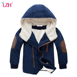6f180fc99c02 LZH 2017 Autumn Winter Jacket For Boys Jacket Kids Warm Hooded Wool Outerwear  Coat Children Jacket Coat For Boys Clothes 12 Year