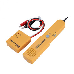 Wholesale Telephone Cable Tracker - Portable RJ11 Network Phone Telephone Cable Tester Toner Wire Tracker Tracer Diagnose Tone Line Finder Detector Networking Tools