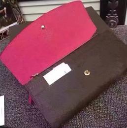 Wholesale Vintage Box Purses - 2018 lady long wallet multicolor designer coin purse Card holder original box women classic zipper pocket