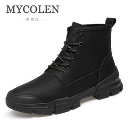 Humor Mens Ankle Boot Genuine Leather Spring Autumn Casual Safety Boots Outdoor Male Steel Toe Cap Work Shoe Footwear Walking Shoes Back To Search Resultsshoes
