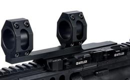 Taktik AR15 M4 M16 Quick Release Kapsam Dağı Optik QD Tüfek Kapsam Yüzükler 1