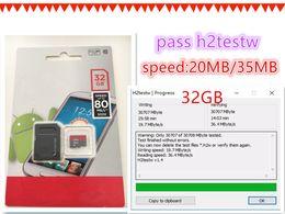 Wholesale microsd card sdhc - New pass h2testw 8GB 16GB 32GB 64GB 128GB Memory Card Micro SD SDHC Memory Card Plus Adapter Class 10 U1 UHS-I V10 A1 MicroSD HC Extreme Pro