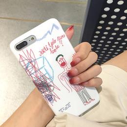 Graffiti dessin coque de téléphone portable cas Phone7plus / 6s peint à la main housse de protection creative OPPO shell Qualité TPU matériel 150 ? partir de fabricateur