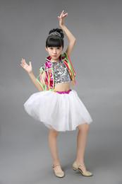 2019 moderne röcke für mädchen Kinder Jazz Dance Kleidung Modern Dance Kleidung Mädchen und Jungen Ballroom Rock rabatt moderne röcke für mädchen