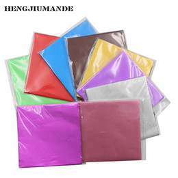 Wholesale Chocolate Foil Paper - 1000pcs Sweets Candy Package Foil Paper Chocolate Lolly Foil Wrappers Square