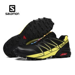 Wholesale Luxury Pro - 2018 Authentic Salomon Speed Cross Pro Mens Designer Sports Running Shoes for Men Sneakers Women Luxury Brand Casual Trainers