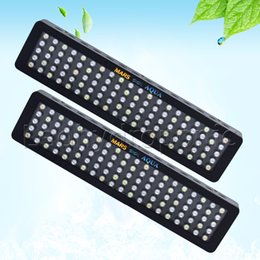 Wholesale led coral reef lighting - 2PCS Dimmable 300W LED Aquarium Grow Light Full Spectrum For Reef Coral LPS SPS