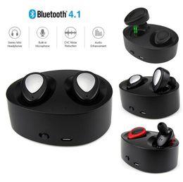 2019 mikrofonanschluss Bluetooth Kopfhörer TWS K2 Ohrhörer Mini Wireless Kopfhörer mit Ladebuchse Stereo-Musik-Headset mit Mikrofon günstig mikrofonanschluss