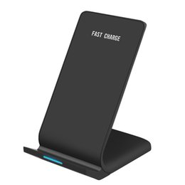 Wholesale Factory Direct Loop - Factory Direct Selling Double Loop Vertical Fast Charging Wireless Charger For Apple Iphonex 8 Samsung Smart Phones