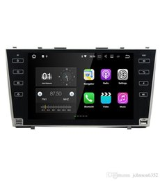 Wholesale Video Player Network - Full touch button 4G network Android 7.1 2G car gps navigation for Toyota camry 2008 2009 2010 2011 car dvd player car stereo radio gps
