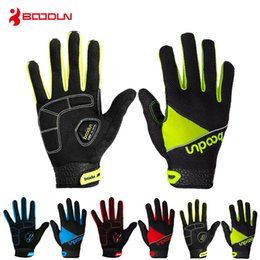 Wholesale Mens Sports Gloves - Cycling Gloves Full Finger Mens Women Child Summer Bicycle Gloves Guantes Ciclismo MTB Mountain Sports Bike Gloves Mittens