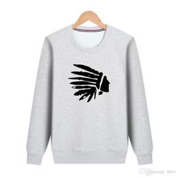 En gros 9 couleurs en option 2018 automne hiver chaud ainsi que velours épais pull American Indian Native Outdoor sports vente Sweat ? partir de fabricateur