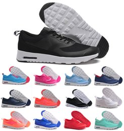 Wholesale Outdoor Rubber Floor - 2018 fashion Air cushion thea 87 90 Running Shoes for men's women outdoor sports sneakers mans lightweight athletic shoes size eur 36-45